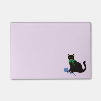 Gato juguetón post-it® notas