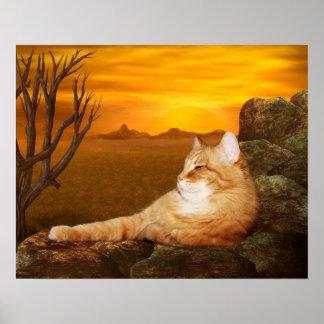 Gato Lazing Impresiones