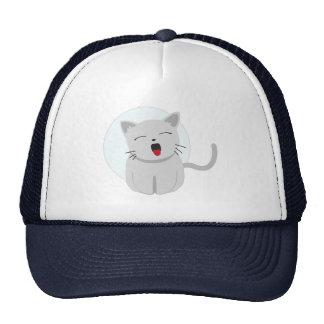 Gato lindo 3 del gatito de Chibi Gorra