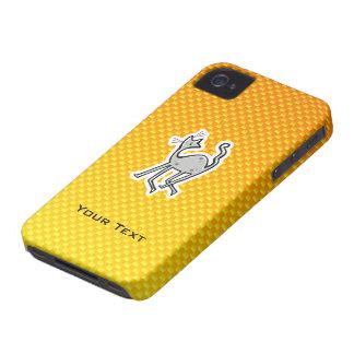 Gato lindo Amarillo-naranja iPhone 4 Cobertura