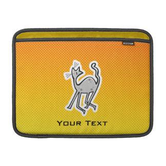 Gato lindo Amarillo-naranja Funda MacBook