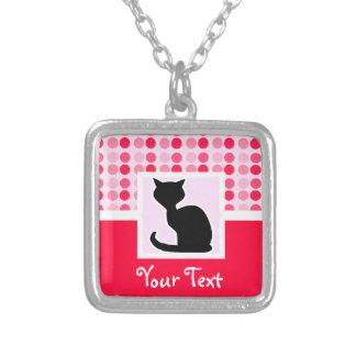 Gato lindo colgantes personalizados