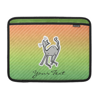 Gato lindo Colorido Fundas MacBook