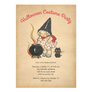 Gato lindo del Brew de Witchs del fiesta del traje Comunicado