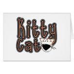 Gato lindo del gatito tarjetas