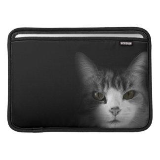 Gato lindo fundas para macbook air