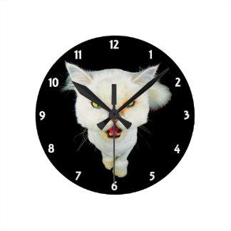 Gato loco avinagrado, lindo reloj