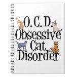 Gato loco cuaderno