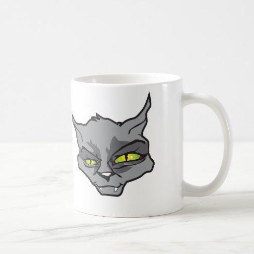 Gato malvado taza clásica