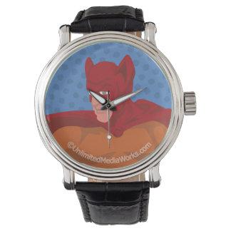 Gato-Man retro Relojes