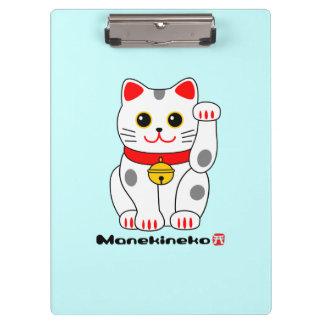 Gato Manekineko-Afortunado (que tienta el gato)
