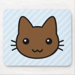 gato marrón alfombrilla de raton