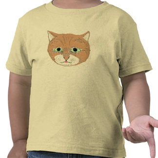 Gato marrón lindo