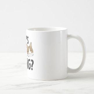 Gato/mascota divertidos taza de café