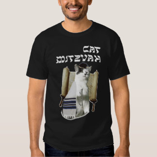 Gato Mitzvah Playeras