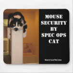Gato Mousepad de espec. Ops Tapetes De Ratón
