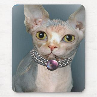 Gato Mousepads de Sphynx Tapetes De Raton