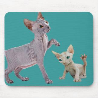 Gato Mousepads de Sphynx Tapetes De Ratón