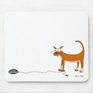 Gato Mousmat - ratón del ordenador Mouse Pad