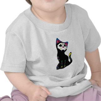 'Gato Muerto' Dia De Los Muertos Cat Shirts