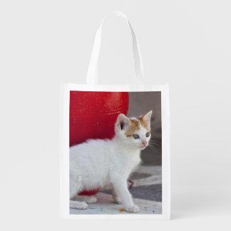 Gato, Mykonos, Grecia Bolsa Para La Compra