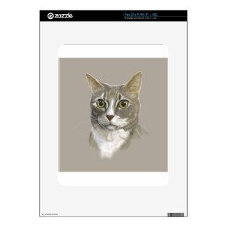 Gato nacional del pelo corto del capitán skin para el iPad