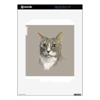 Gato nacional del pelo corto del capitán skins para iPad 2