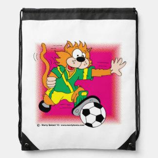 Gato Napsack del fútbol Mochilas