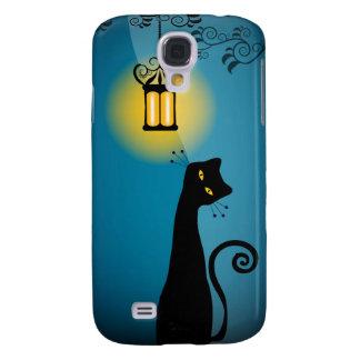 Gato negro 3 funda samsung s4