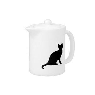 Gato negro - asustadizo fantasmagórico