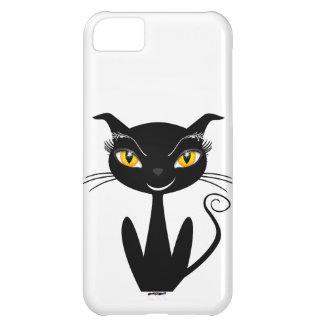 Gato negro caprichoso