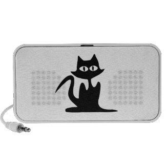 Gato negro de Halloween Altavoces