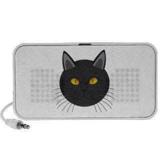 Gato negro de Halloween iPhone Altavoces