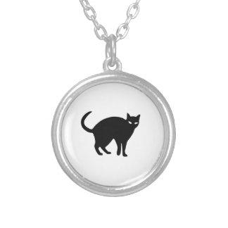 Gato negro de Halloween Collar Personalizado