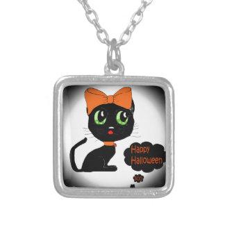 Gato negro de Halloween del animado Joyerias Personalizadas