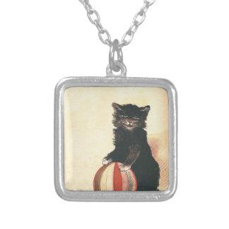 Gato negro de HALLOWEEN del vintage Joyería