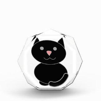 Gato negro de Kawaii