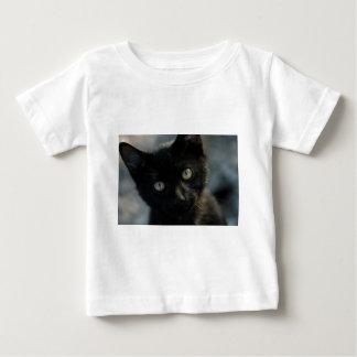 Gato negro de la EEK asustadizo Playera