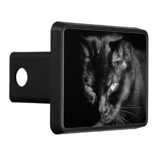 Gato negro de mirada enojado tapas de tráiler