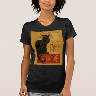 Gato negro de Tournee de Chat Noir Playera