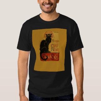 Gato negro de Tournee de Chat Noir Playeras