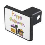 Gato negro del caramelo de Halloween Tapas De Tráiler