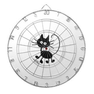 Gato negro del dibujo animado