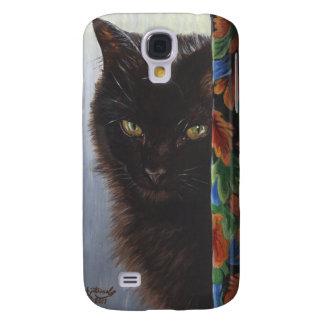 Gato negro del gatito del jade por ArtByAkiko