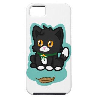 Gato negro iPhone 5 protector