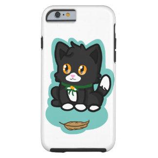Gato negro funda de iPhone 6 tough