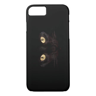Gato negro funda iPhone 7