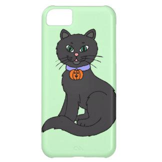 Gato negro funda para iPhone 5C