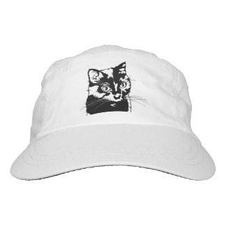 Gato negro gorra de alto rendimiento