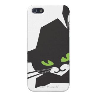 Gato negro iPhone 5 carcasa